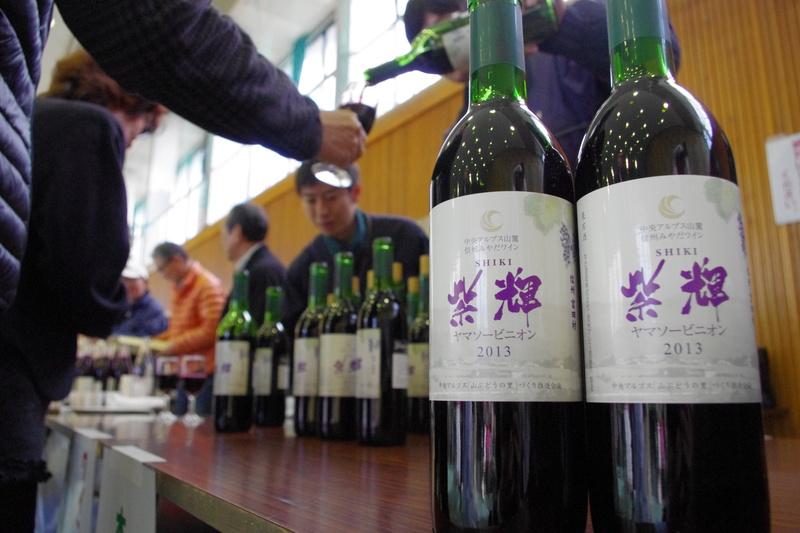 今年の紫輝は華やかな香り・・・♪【ワインまつり】