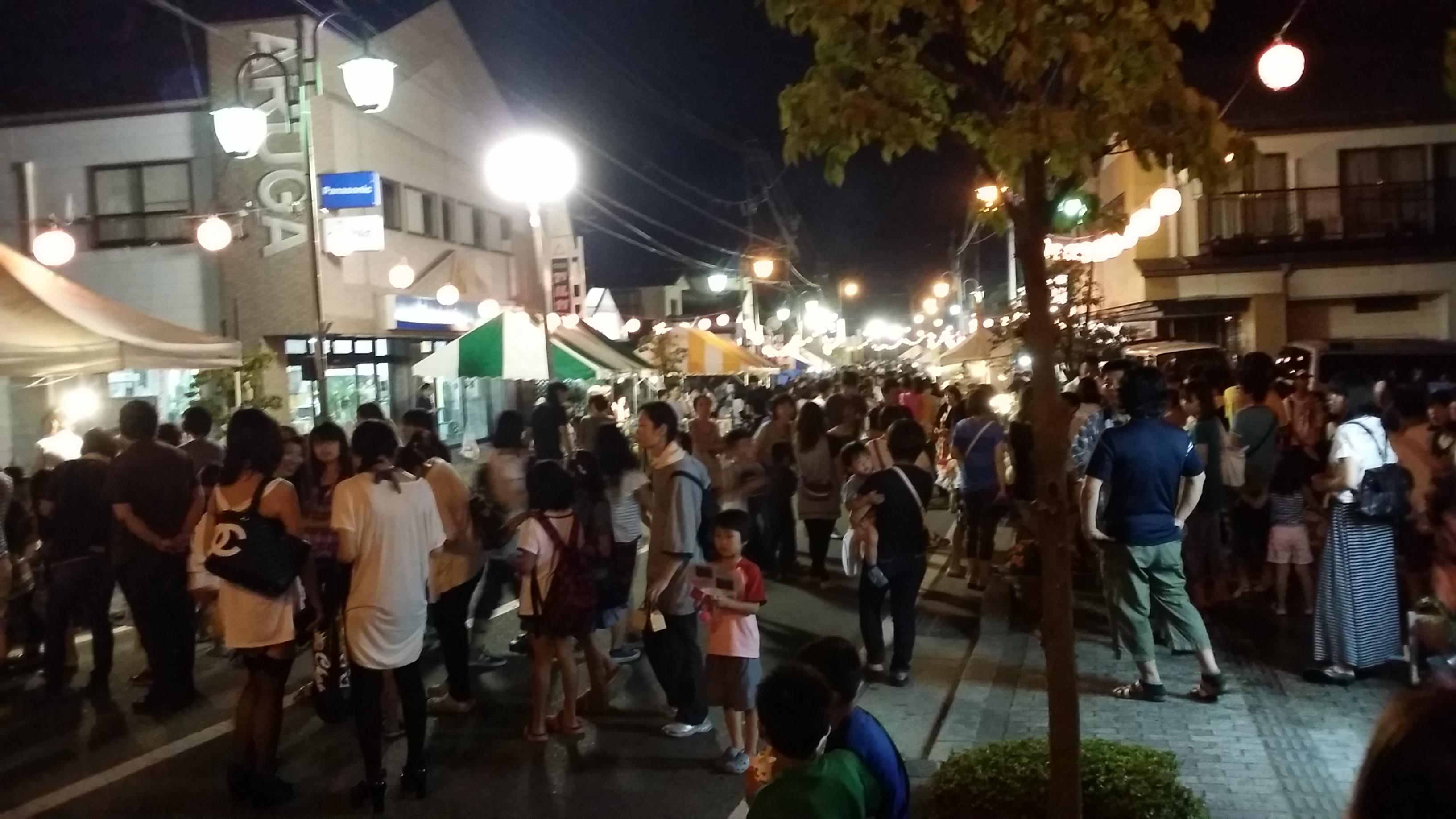 宮田村商工会:夏の夜店行って来ました~