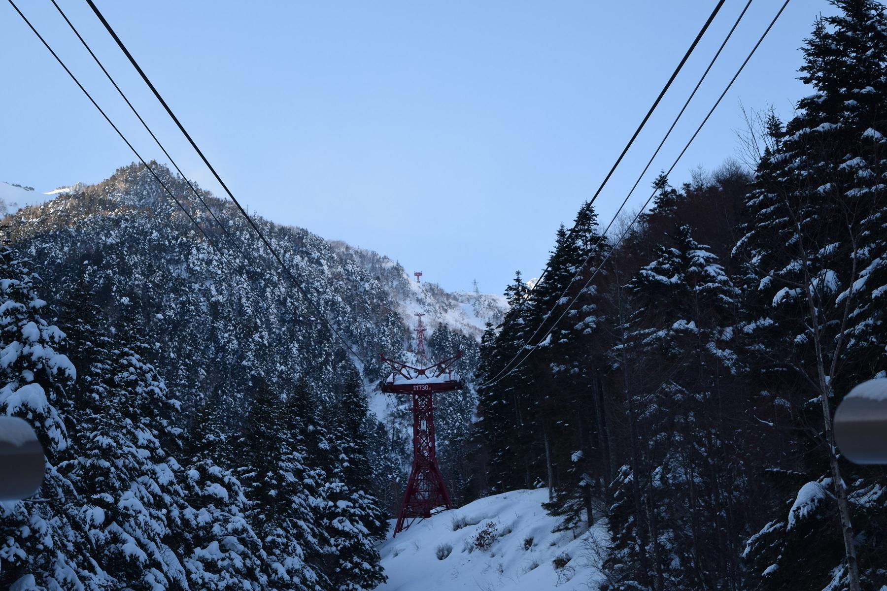 中央アルプス駒ヶ岳ロープウェイ運休のお知らせ