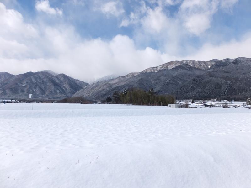 宮田雪景色