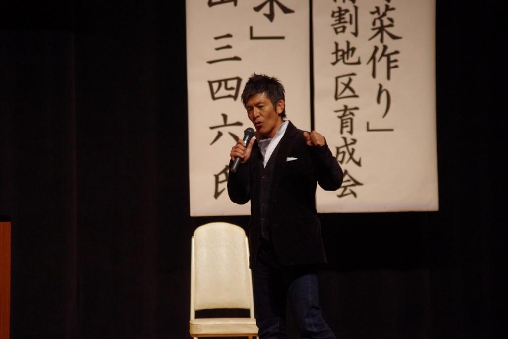 【ついに来ました!】三ちゃんが宮田村で大熱弁!!