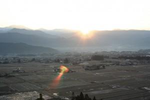 2007,1,1 駒が原から見る中ア、宮田観音から見る初日の出他 015