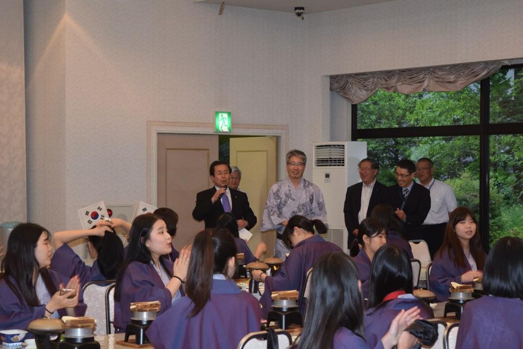 【熱烈歓迎】韓国 上一女子高校がやって来た!^^