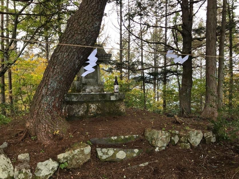 山奥の3つの神社の例祭