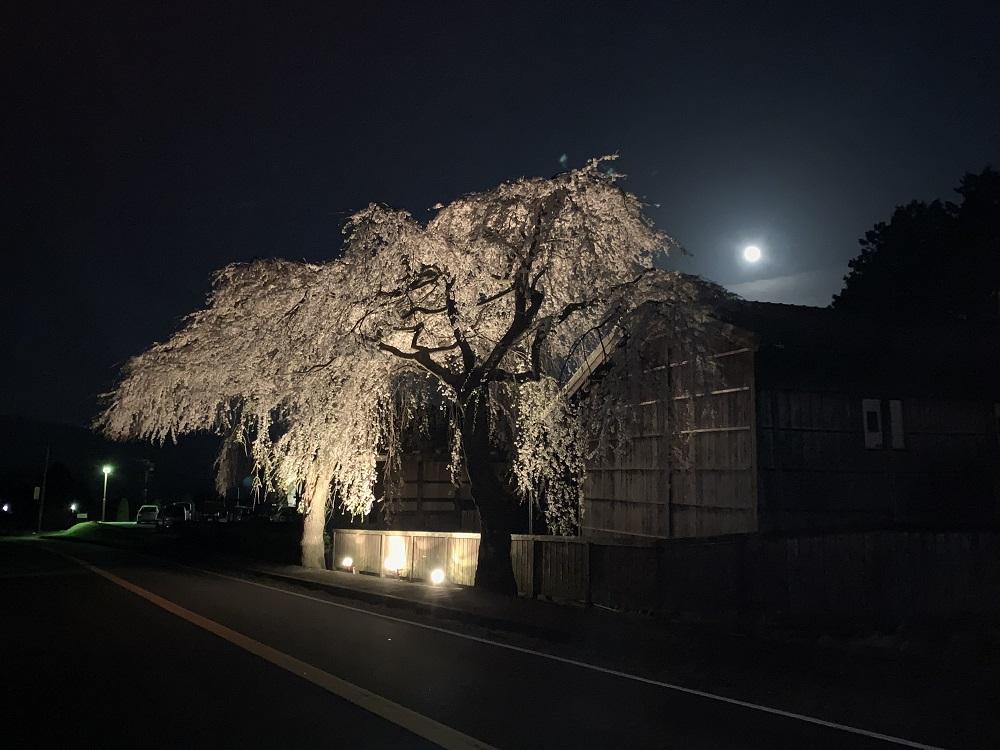 平成最後の満月と…。