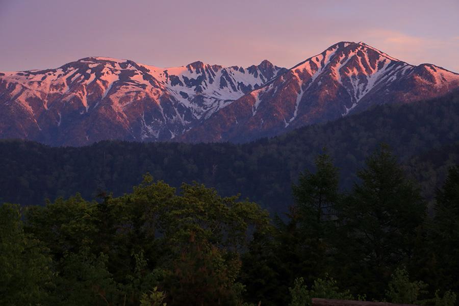 中央アルプスの主峰「駒ケ岳」